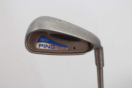 Ping G2 EZ Single Iron 5 Iron Aerotech SteelFiber i80 Graphite Regular Right Handed Blue Dot 38.75in
