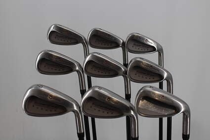 TaylorMade Supersteel Iron Set 3-GW Stock Graphite Shaft Graphite Stiff Right Handed 38.0in