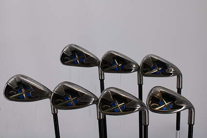 Callaway X-22 Iron Set 5-PW GW Stock Graphite Shaft Graphite Regular Right Handed 38.25in