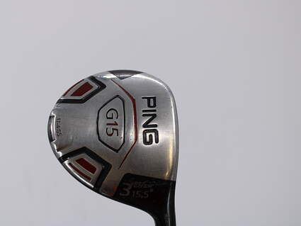 Ping G15 Draw Fairway Wood 3 Wood 3W 15.5° Ping TFC 149F Graphite Regular Right Handed 42.5in