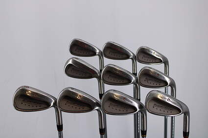 TaylorMade Supersteel Iron Set 3-PW GW SW Stock Steel Shaft Steel Stiff Right Handed 37.75in