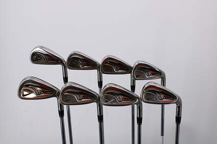 Nike Victory Red Pro Cavity Iron Set 4-PW GW True Temper Dynalite 110 Steel Stiff Right Handed 37.75in