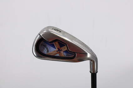 Callaway X-18 Single Iron 6 Iron Callaway Gems Graphite Light Right Handed 37.0in