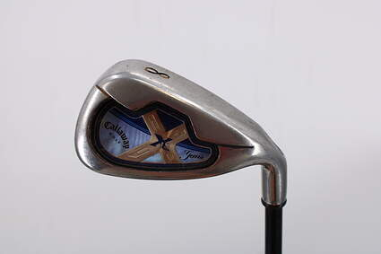 Callaway X-18 Single Iron 8 Iron Callaway Gems Graphite Light Right Handed 35.75in