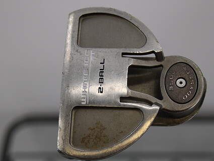 Odyssey White Ice 2-Ball Putter Face Balanced Steel Left Handed 35.0in