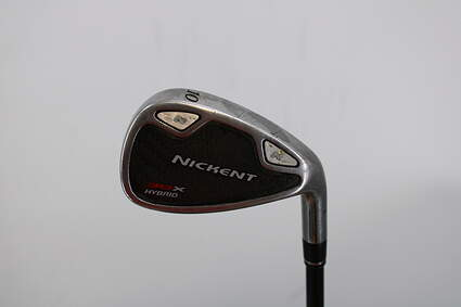 Nickent 3DX Single Iron Pitching Wedge PW Stock Graphite Shaft Graphite Regular Right Handed 35.75in