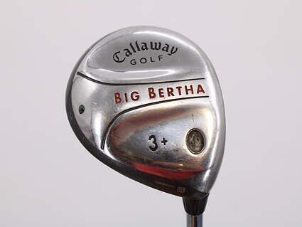 Callaway 2004 Big Bertha Fairway Wood 3+ Wood Callaway Stock Steel Steel Uniflex Right Handed 42.5in