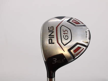 Ping G15 Fairway Wood 3 Wood 3W 15.5° Ping TFC 149F Graphite Regular Left Handed 43.0in