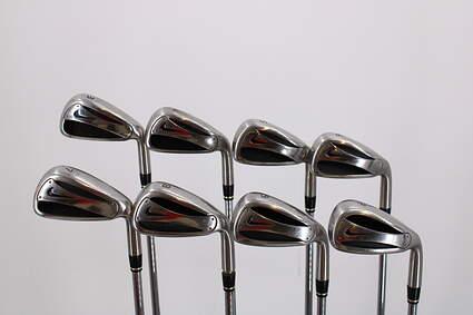 Nike Slingshot OSS Iron Set 3-PW Stock Steel Shaft Steel Stiff Right Handed 38.25in
