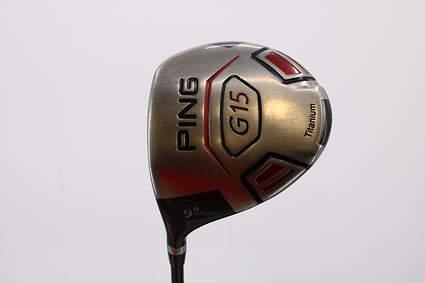 Ping G15 Driver 9° Aldila Serrano 60 Graphite Stiff Left Handed 46.0in