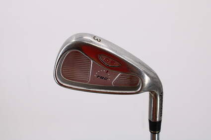 TaylorMade Rac OS Single Iron 3 Iron Stock Steel Shaft Steel Stiff Right Handed 40.0in