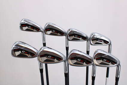 Ping G410 Iron Set 4-PW GW ALTA CB Red Graphite Stiff Right Handed Black Dot 39.0in