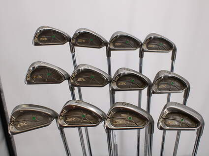 Ping ISI K Iron Set 2-LW Stock Steel Shaft Steel Stiff Right Handed Green Dot 38.25in