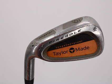 TaylorMade Firesole Single Iron 6 Iron TM Bubble Graphite Stiff Left Handed 38.0in