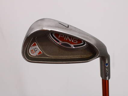 Ping G10 Single Iron 7 Iron Ping TFC 129I Graphite Senior Right Handed Blue Dot 36.75in