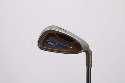 Ping G2 Single Iron 6 Iron Ping TFC 100I Steel Regular Right Handed White Dot 38.5in