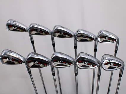Ping G410 Iron Set 4-LW AWT 2.0 Steel Stiff Right Handed Black Dot 38.5in