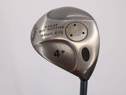 Callaway Hawkeye Fairway Wood 4 Wood 4W Hawkeye Gems UL Graphite Stiff Right Handed 43.5in