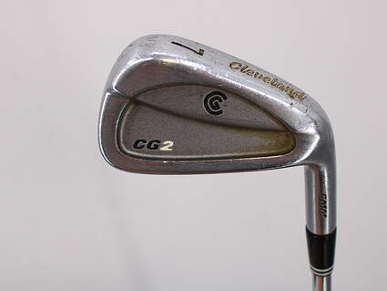 Cleveland CG2 Single Iron 7 Iron Stock Steel Shaft Steel Wedge Flex Right Handed 37.0in