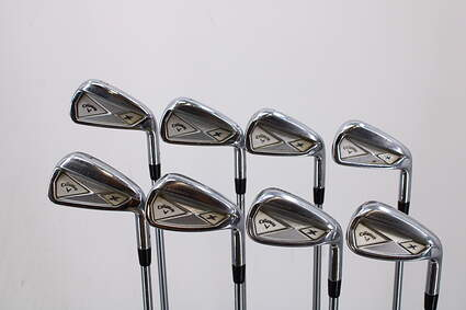 Callaway 2013 X Forged Iron Set 4-PW Project X 6.0 Steel Regular Right Handed 38.0in