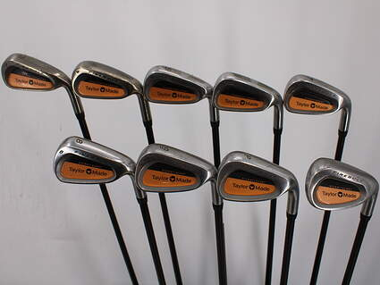 TaylorMade Firesole Iron Set 3-PW SW TM Bubble Graphite Stiff Right Handed 39.25in