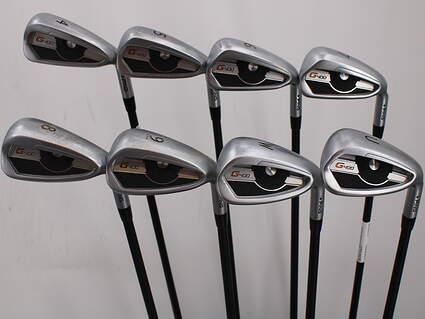 Ping G400 Iron Set 4-PW GW ALTA CB Graphite Senior Right Handed Black Dot 38.5in