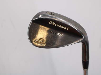 Cleveland CG15 Black Pearl Wedge Sand SW 54° 14 Deg Bounce Stock Steel Shaft Steel Wedge Flex Right Handed 36.0in