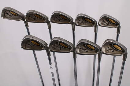 Ping i3 Blade Iron Set 2-PW Stock Steel Shaft Steel Stiff Right Handed Black Dot 38.0in
