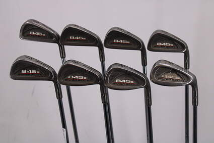 Tommy Armour 845S Polished 201 Iron Set 3-PW Stock Steel Shaft Steel Regular Right Handed 38.0in
