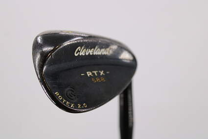 Cleveland 588 RTX 2.0 Black Satin Wedge Sand SW 56° True Temper Dynamic Gold Steel Wedge Flex Right Handed 35.5in