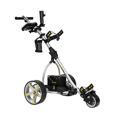 Bat Caddy X3R Electric Push and Pull Cart