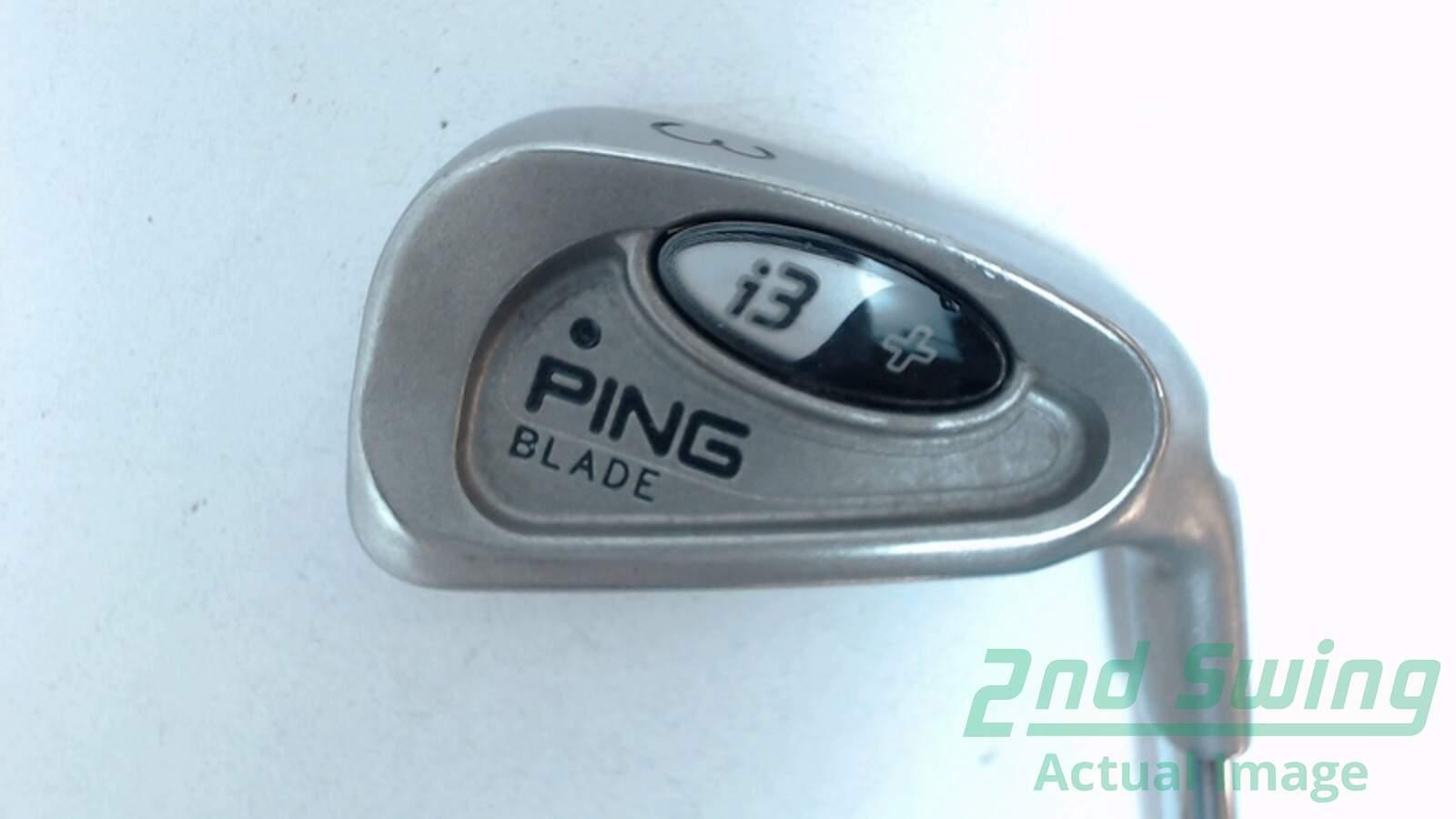 Used Ping i3 + Blade Single Iron 3 Iron Steel Stiff Right 39\