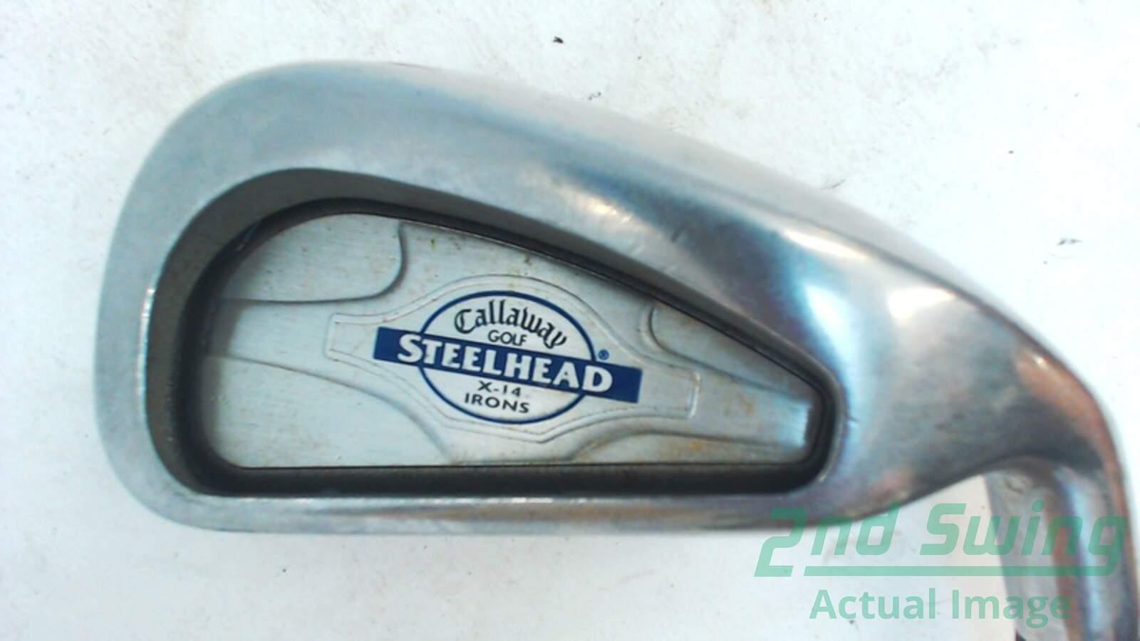 Used Callaway X-14 Single Iron 4 Iron Graphite Regular Right 38.25 ...