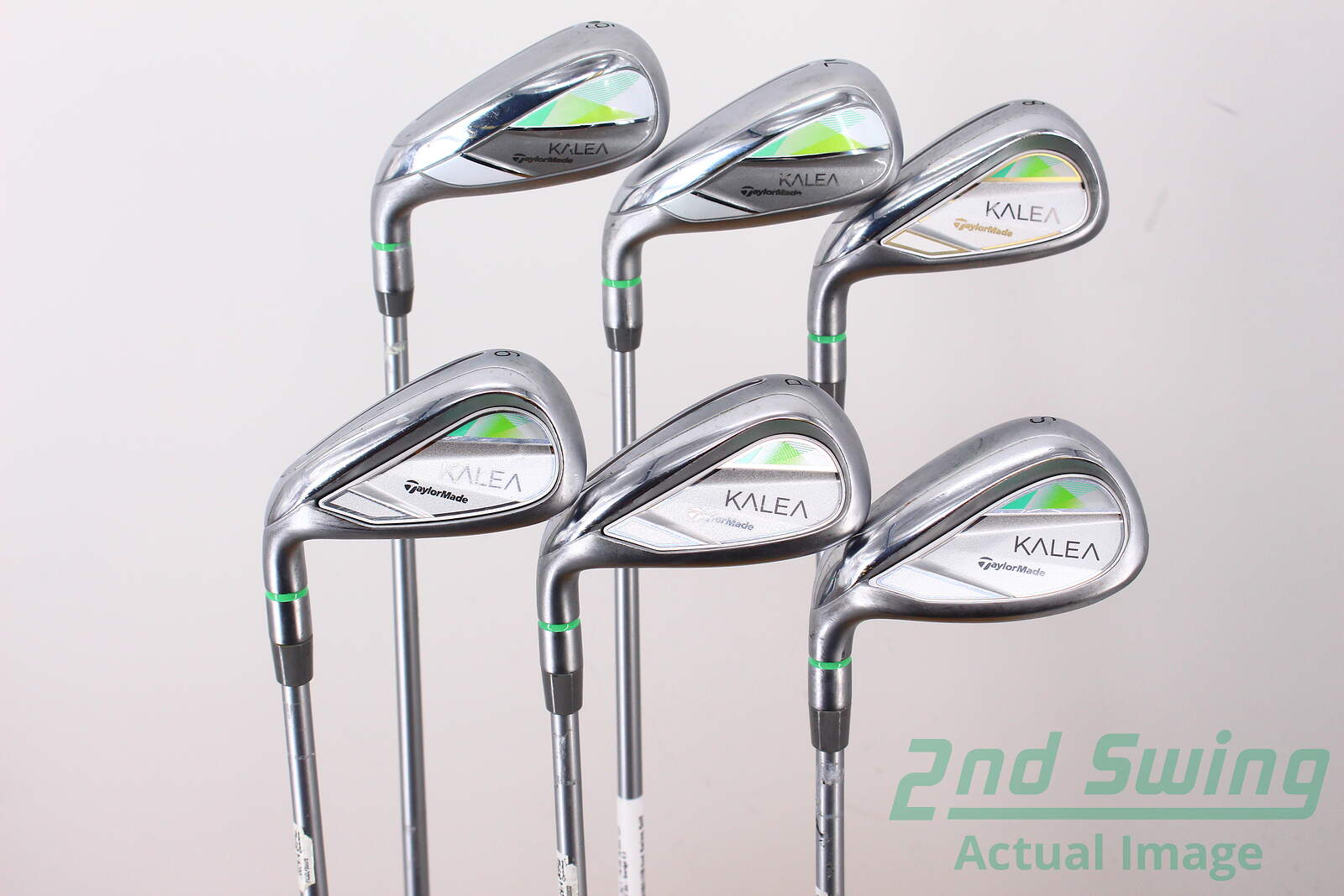 Used Ladies Golf Clubs >> Used Taylormade Kalea Ladies Iron Set 6 Pw Sw Tm Slim Tech
