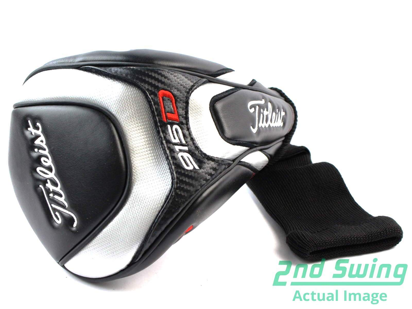 Titleist 915 D2 Driver Headcover Black Red And Silver Golf