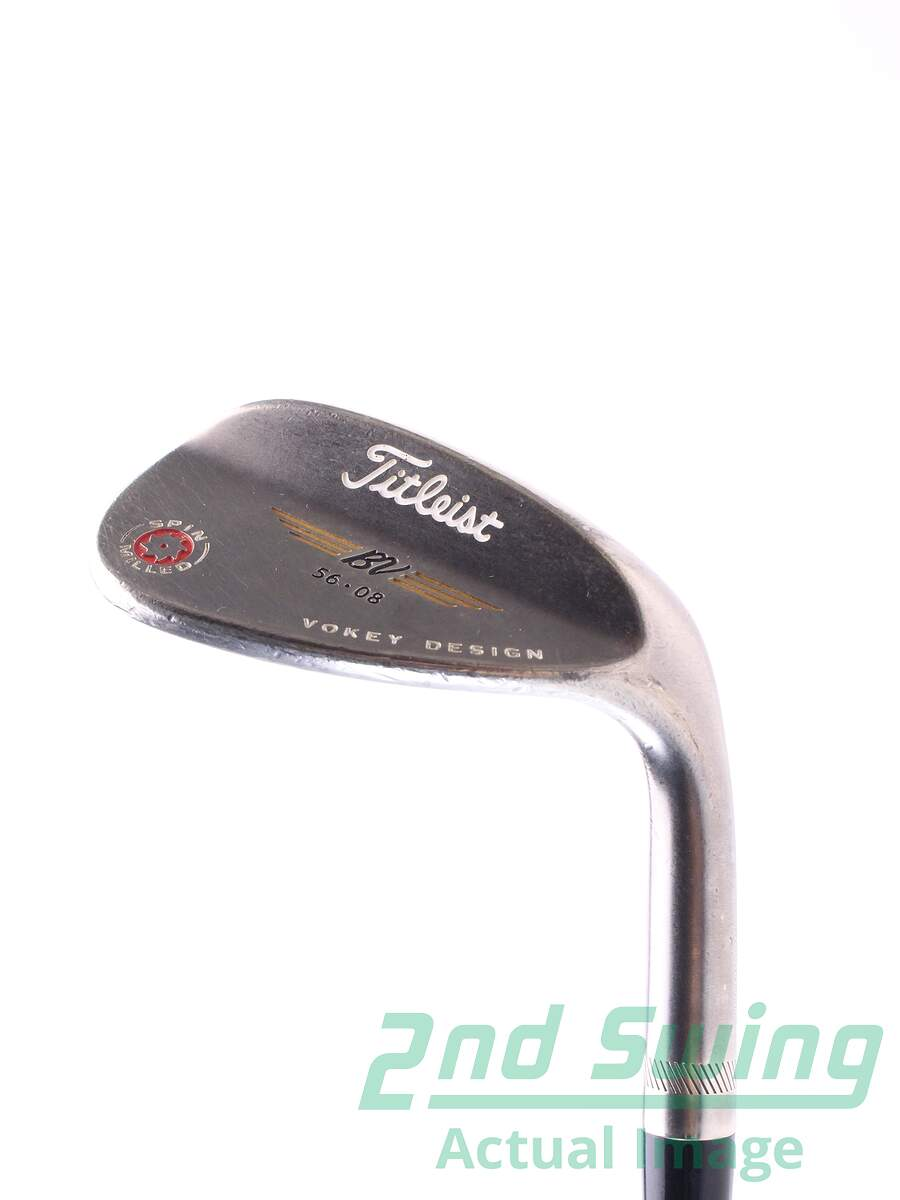 Used Titleist 2009 Vokey Spin Milled Black Wedge Sand Sw
