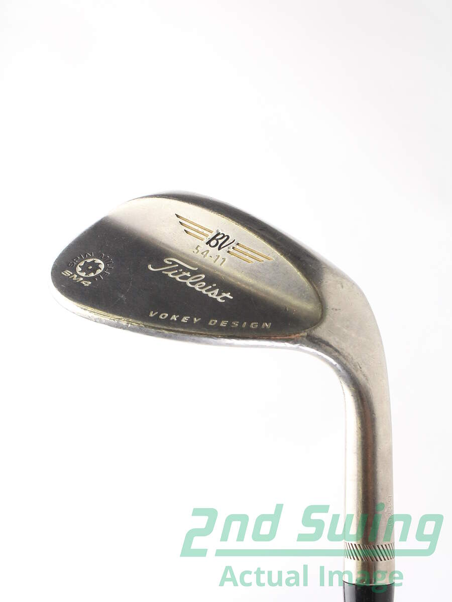 Used Titleist Vokey Spin Milled Sm4 Black Wedge Sand Sw 54