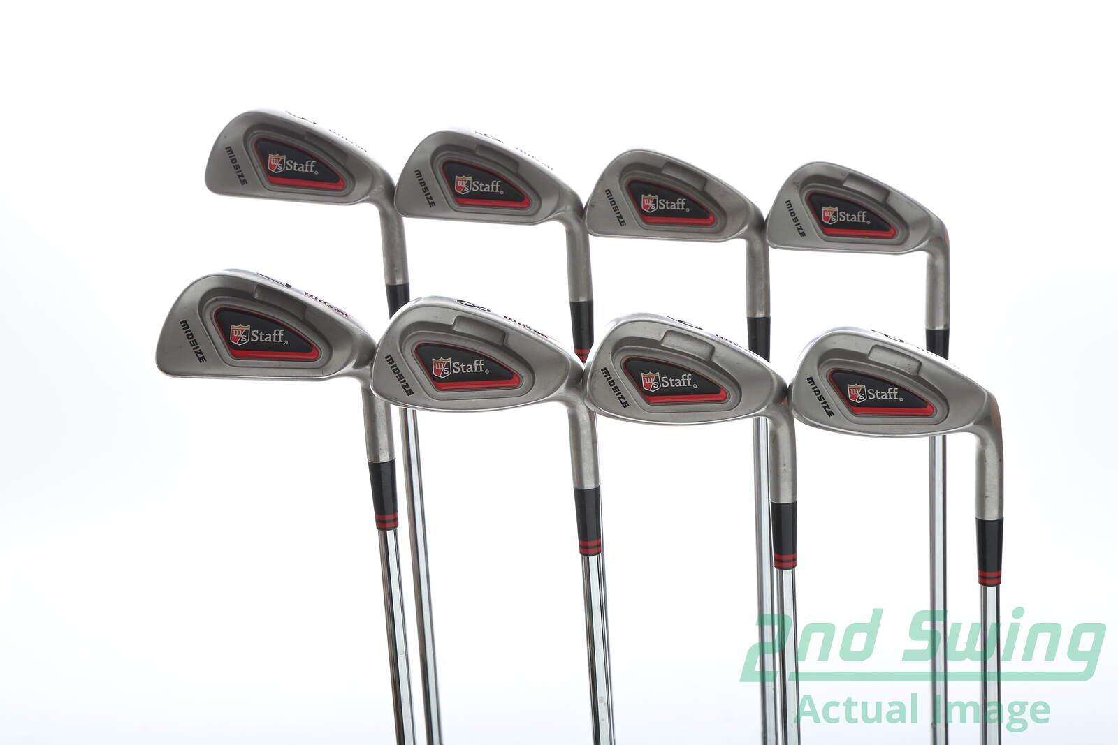 Wilson blackjack 8-piece hybrid iron set
