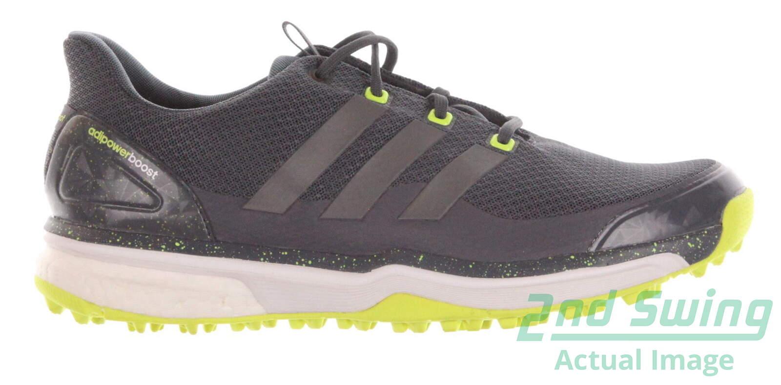 New hombre  zapatos de golf Adidas Adipower Sport Boost 2 Medium 10 gris