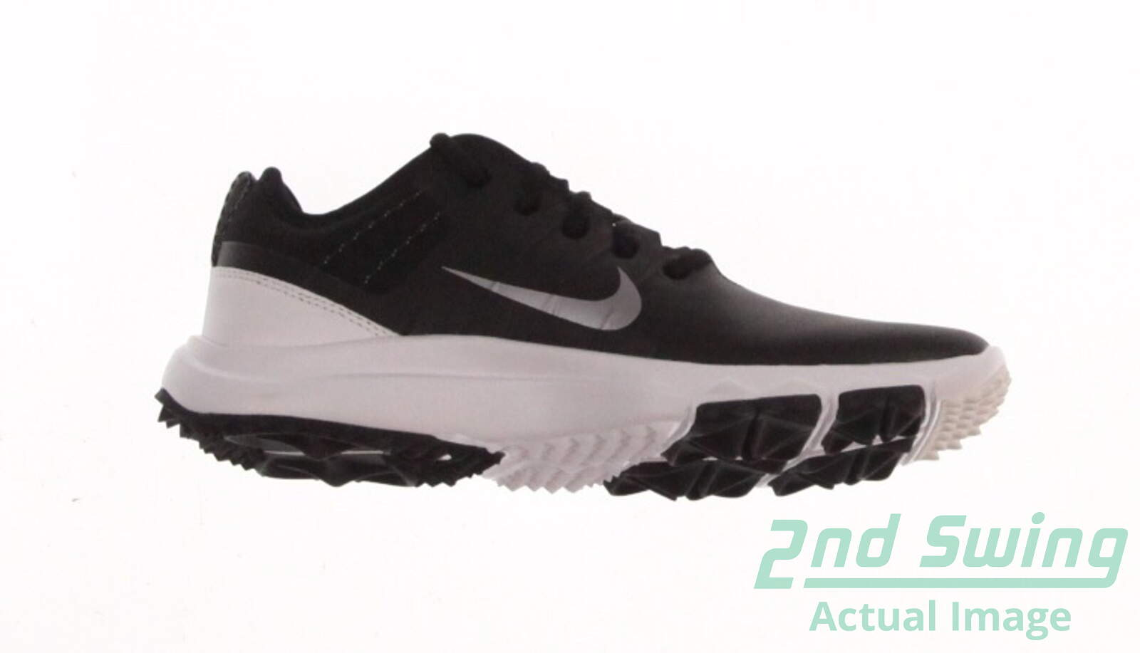 e0aede9b90d0 New Womens Golf Shoe Nike FI Impact 2 9.5 Black White MSRP  170 776093 002  - Golf Footwear