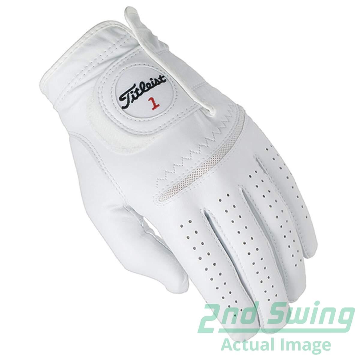 Mens golf gloves xxl - New Mens Titleist Permasoft Mens Golf Glove Xx Large Xxl Pearl Left Handed
