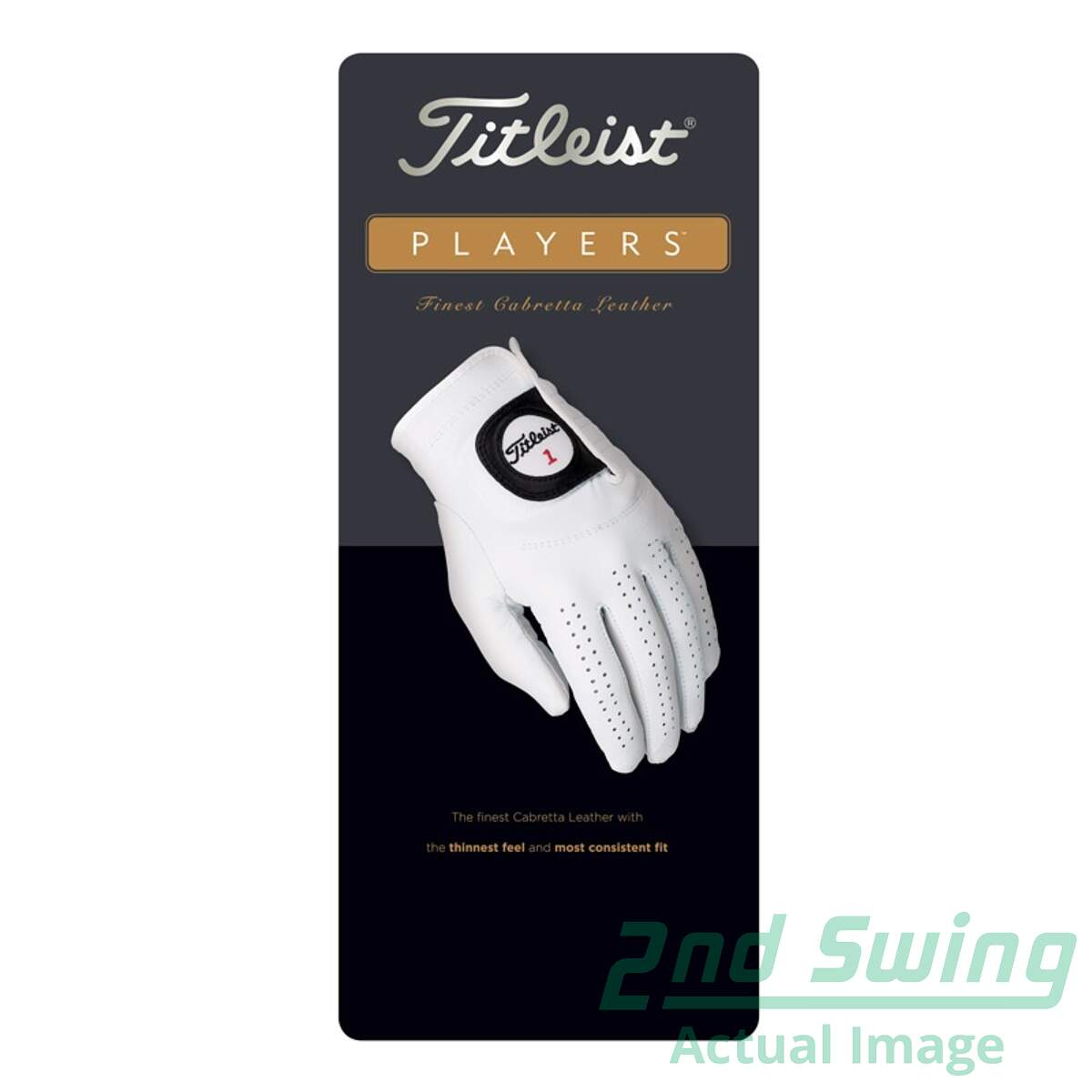 Mens golf gloves xxl - New Mens Titleist Players Golf Glove Xx Large Xxl Leather Left Handed
