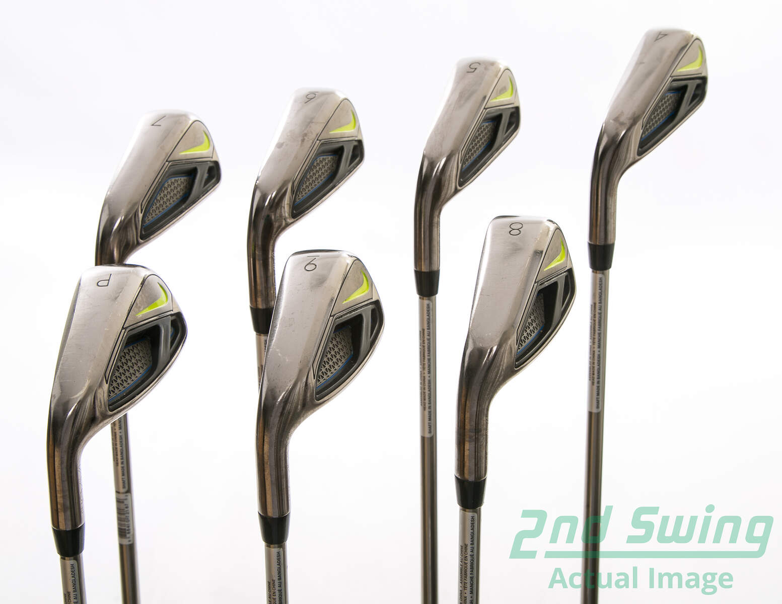 Nike Vapor Fly Iron Set 4-PW UST Mamiya Recoil 460 F4 Graphite Stiff Left  Handed 38