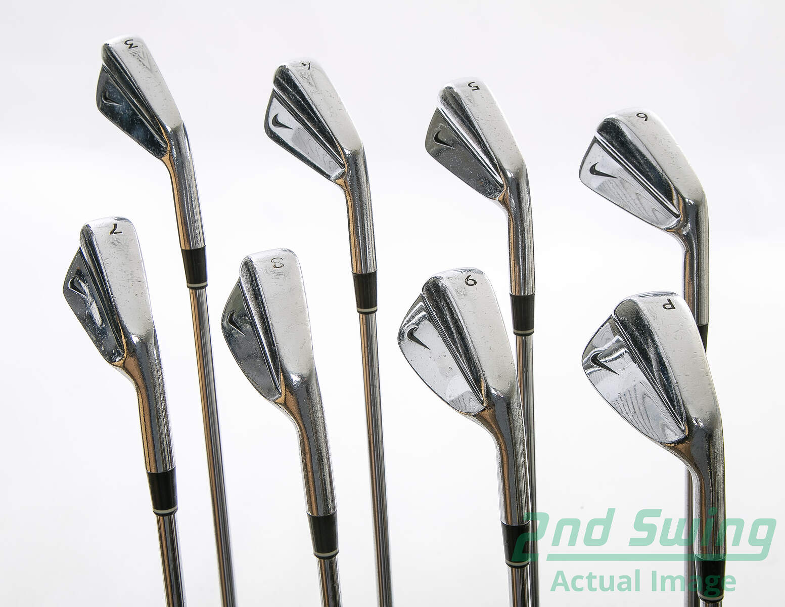Nike Forged Blades Iron Set 3-PW Rifle 6.0 Steel Stiff Right Handed 38