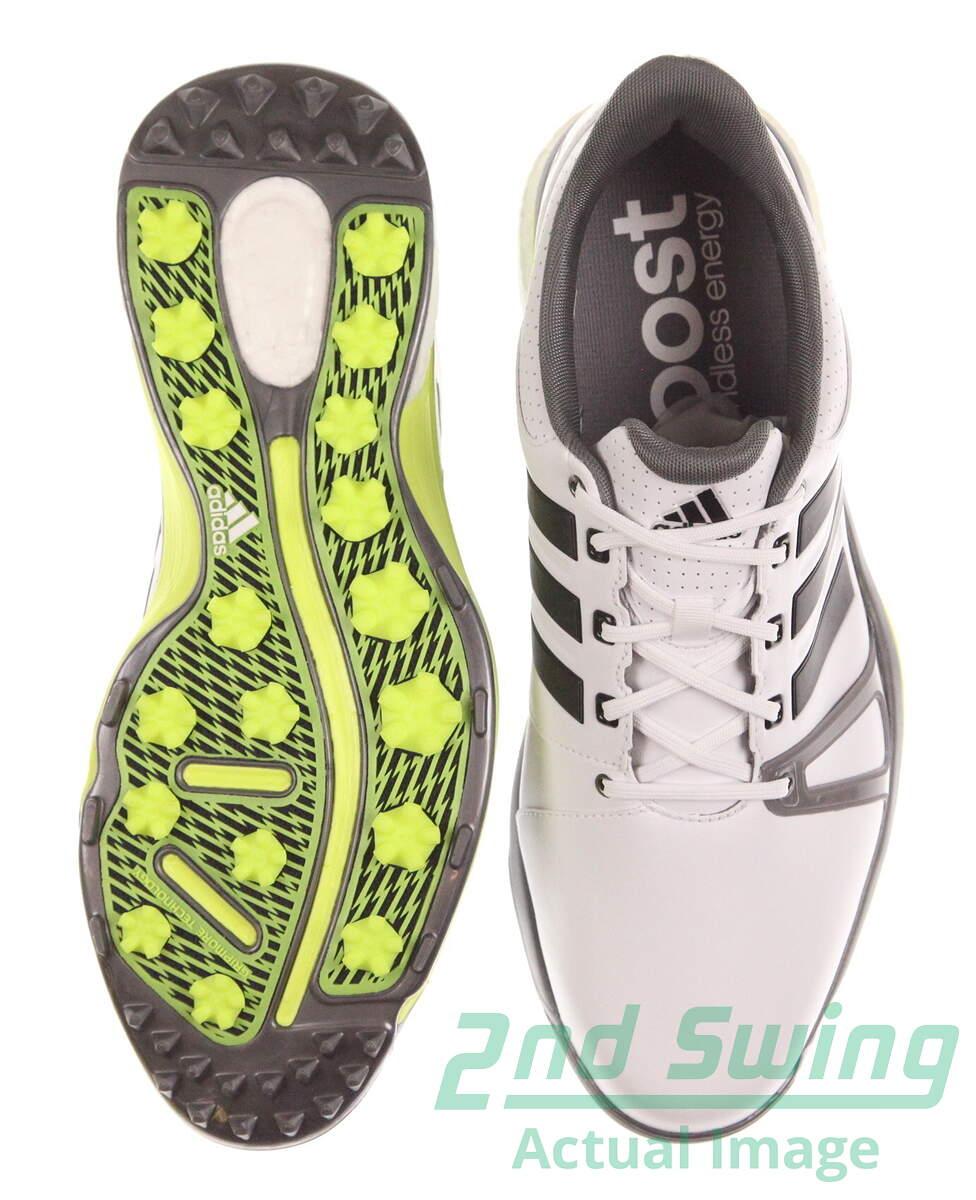Nuova Uomo Scarpa Da Boost Golf Adidas Adipower Sport Boost Da 2 - Bianco cc429e
