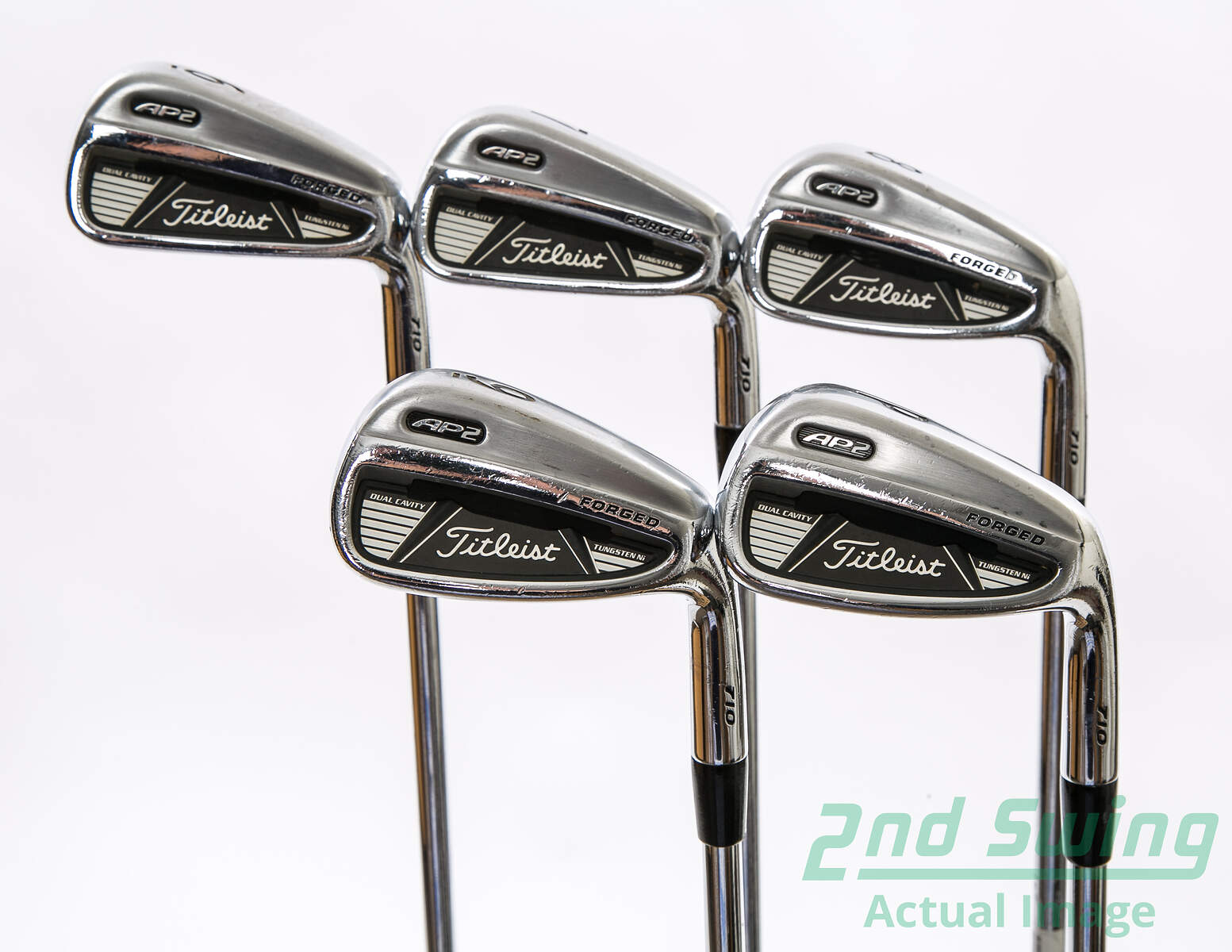 Used Titleist 710 AP2 Iron Set 6 PW Nippon NS Pro 970