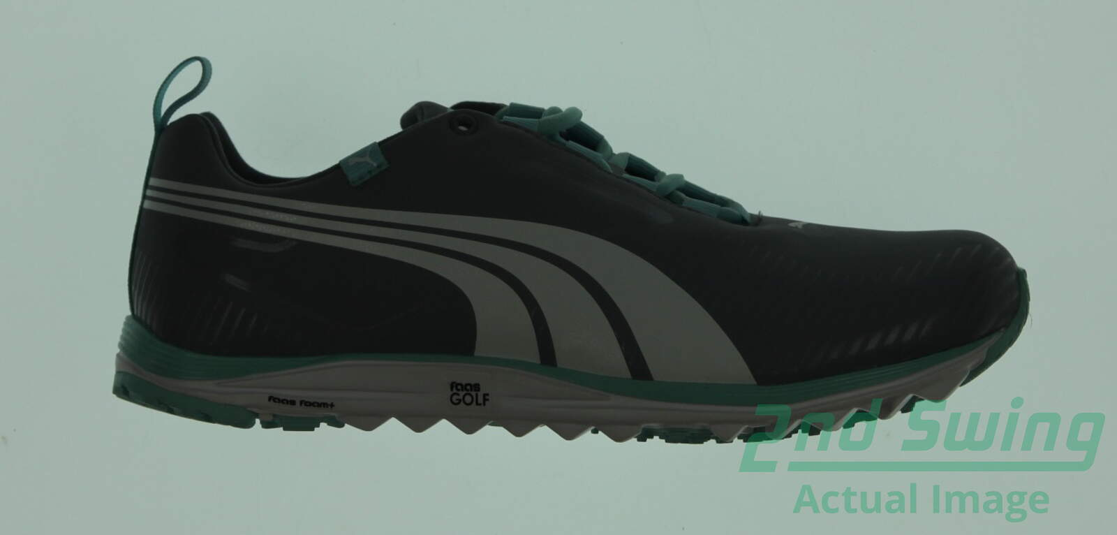 New Womens Golf Shoe Puma Faas Lite 6.5 Gray MSRP  160 - Golf Footwear 86cee4bd53