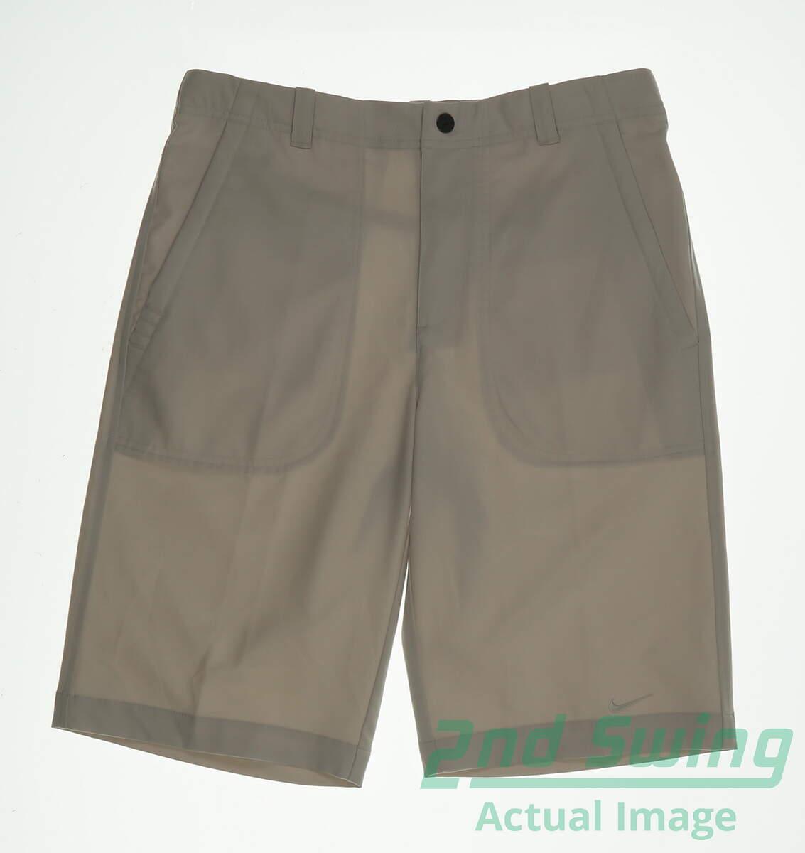 New Womens Nike Golf Shorts Size Large L Tan MSRP  90  21c6b5d44