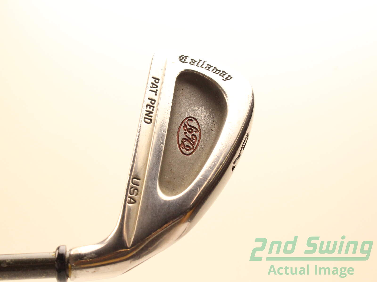 Used Callaway S2h2 Single Iron 3 Iron Stock Graphite Shaft Graphite