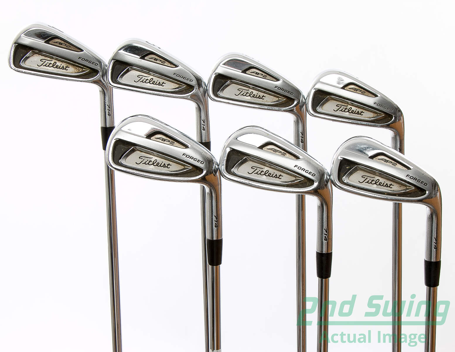 Used Titleist 714 AP2 Iron Set 4 PW True Temper Dynamic